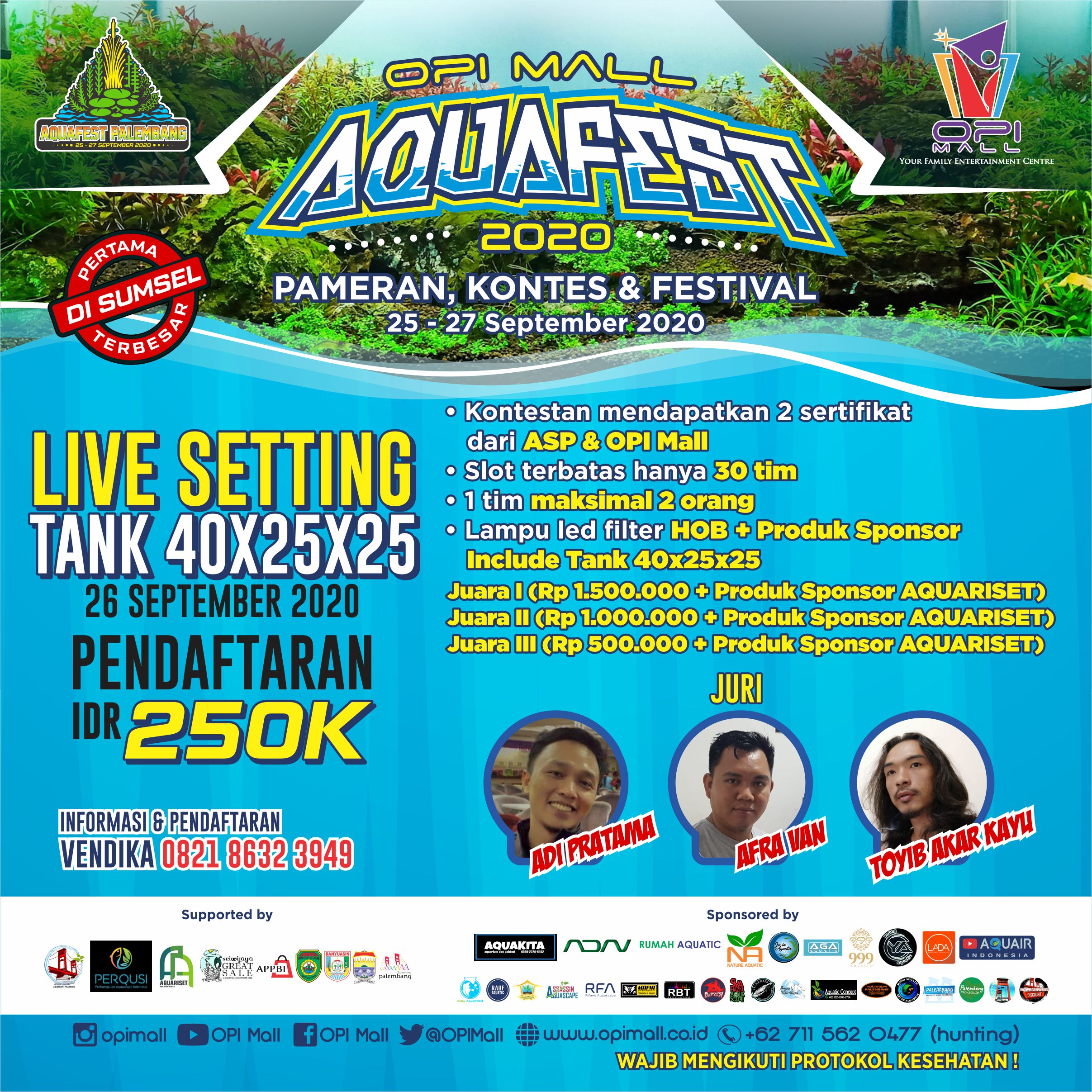 OPI Mall aquafest